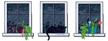 |F2U| Windows (Rain) [NEW]