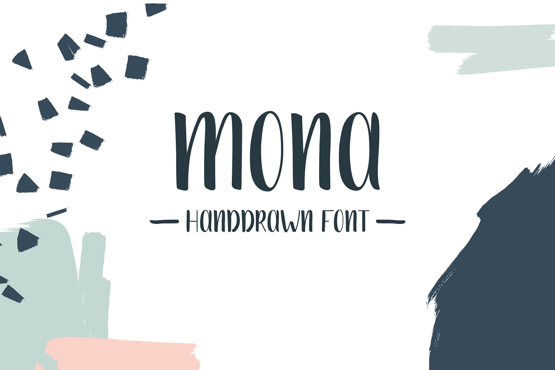 Mona Free Font