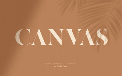 MADE Canvas by fontsrepo