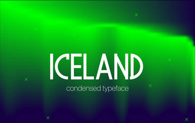 Iceland Typeface by fontsrepo