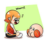 Kirby and inkling