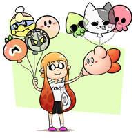 Balloons by YumYumCorn