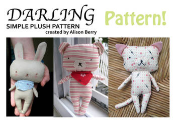 Darling Plush Pattern by gurliebot