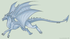 Free Dragon Lineart/Base by Taluns