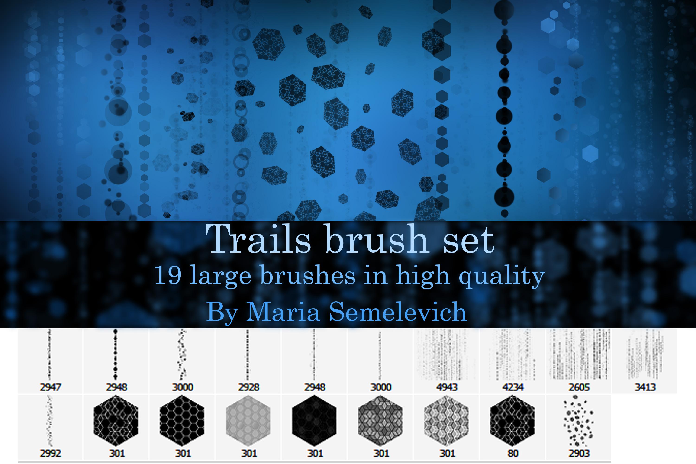 Trails brush set