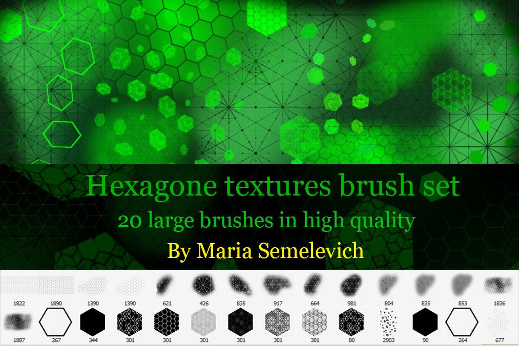 Hexagons textures