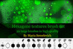 Hexagons textures