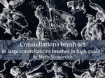 Constellations brush set vol.1