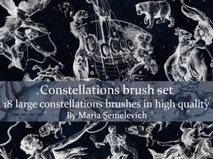 Constellations brush set vol.1