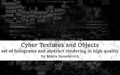 Cyber Textures and Objects