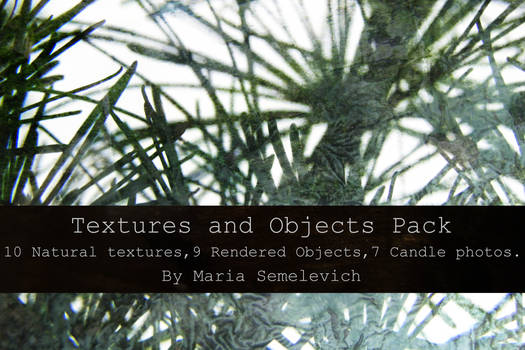 Textures and Objects Pack by Maria Semelevich