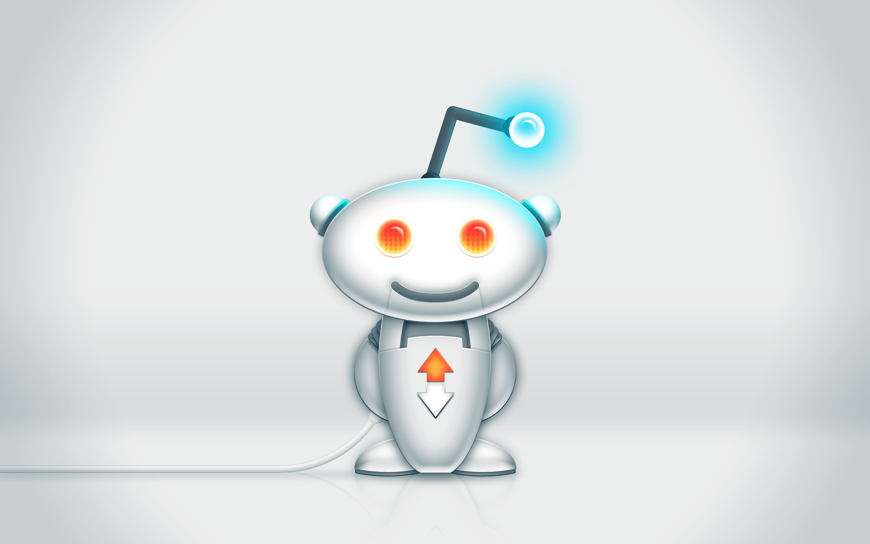 Redditbot Wallpaper by waffledawg