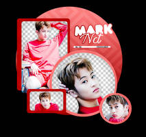 MARK//NCT-PNGPACK#1 by MoonSober