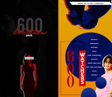 PACK//600+WATCHERS by MoonSober