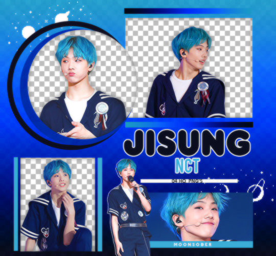 JISUNG//NCT-PNGPACK#1 by MoonSober