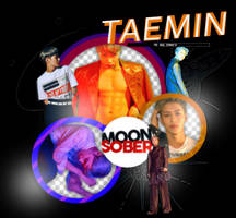 TAEMIN//SHINee_MOVE-PNGPACK#1 by MoonSober