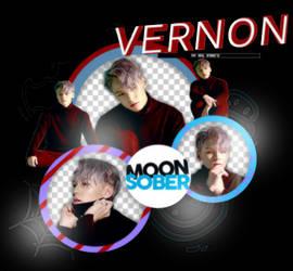 VERNON//SEVENTEEN(TRAUMA)-PNGPACK#1 by MoonSober