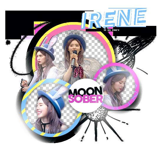IRENE//RED VELVET-PNGPACK#1 by MoonSober