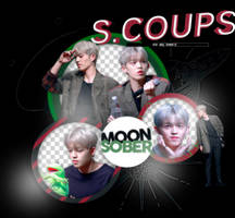 S.COUPS//SEVENTEEN-PNGPACK#1 by MoonSober