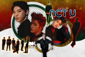 NCT U (BOSS)-PNGPACK#1 by MoonSober