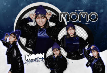 MOMO//TWICE (MLB-BE MAJOR)-PNGPACK#3 by MoonSober