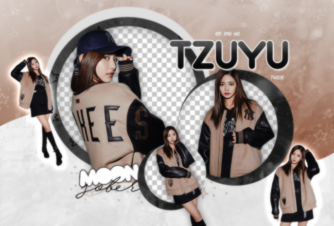 TZUYU//TWICE (MLB-BE MAJOR)-PNGPACK#1 by MoonSober