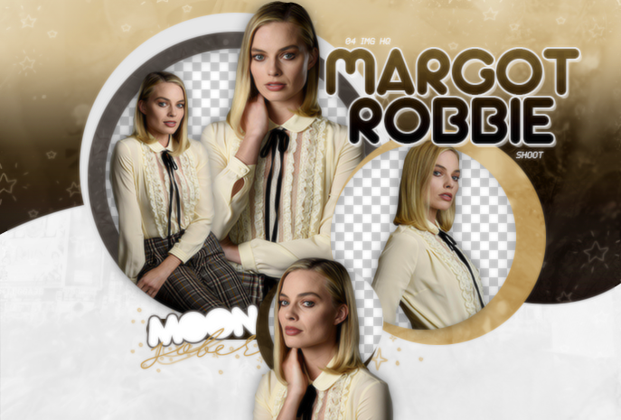 MARGOT ROBBIE-PNGPACK#1 by MoonSober