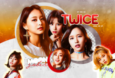 TWICE (WAKE ME UP)-PNGPACK#9 by MoonSober