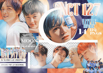 NCT 127 // NATURE REPUBLIC (SCANS) PNGPACK#6