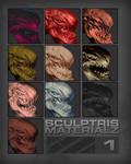 Sculptris Materialz 1 by marcnail