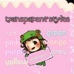 Cute Transparent Styles