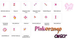 Pinkorange cursor