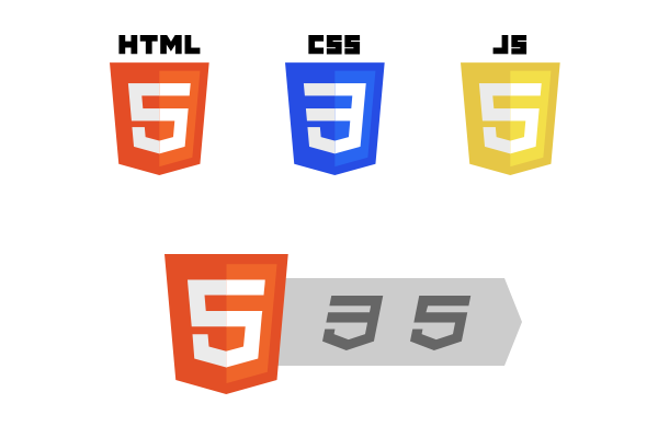 HTML5 Logos and Badges by daPhyre