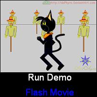 Fayer Run Demo -Flash Movie- by daPhyre