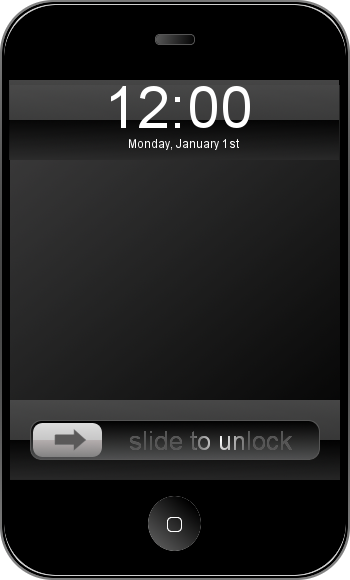 iPhone-iTouch Template - GIMP by terpmeister on DeviantArt