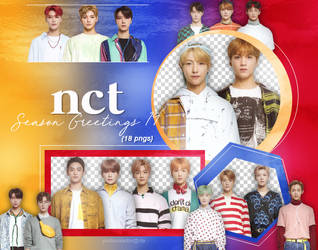 NCT - Season Greetings '19 (part #4) {png} by pollovolador