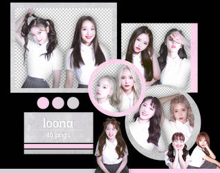 LOONA - [+ +] Album Scans (#1) {png} by pollovolador