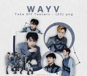 WayV - TAKE OFF Teaser Pictures {png} by pollovolador
