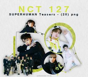 NCT 127 - SUPERHUMAN {png} by pollovolador