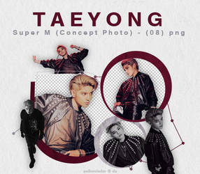 TAEYONG - Super M (Concept Photo) {png} by pollovolador