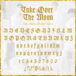 Take Over The Moon - WayV {font}