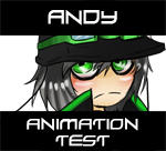Animation test 1: Andy