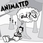 Wally Sleep animated gif