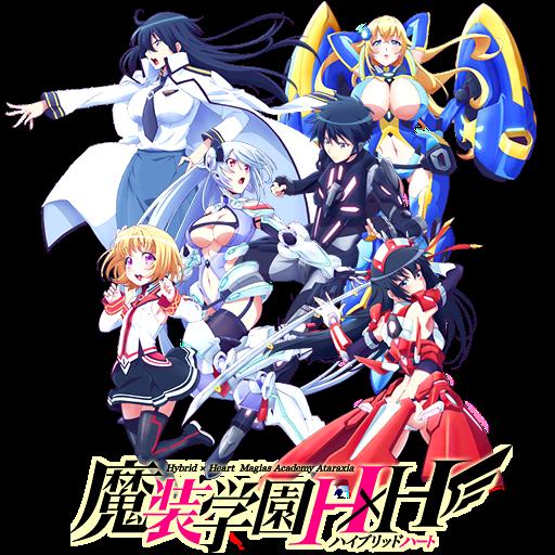 Masou Gakuen HxH Anime Icon V2 by Wasir525