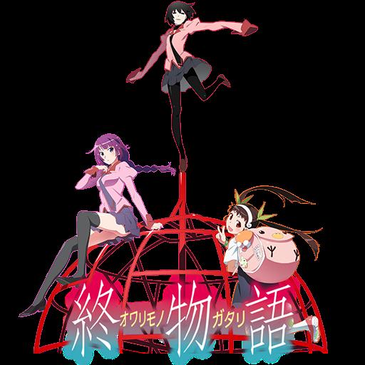 Owarimonogatari Season 2 Anime Icon by Wasir525