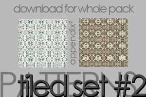 Pattern Set 2 by Pinkly-Icons