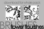 Brushes - Flower Flourishes