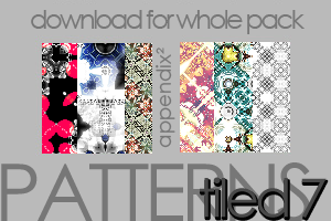 Patterns - Tiled 7 by Pinkly-Icons