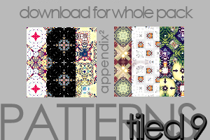 Patterns - Tiled 9 by Pinkly-Icons