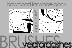 Brushes - DashedVectors by Pinkly-Icons